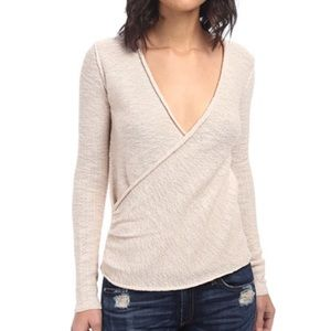 Tops - Free People Gotham faux wrap